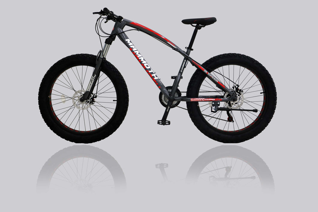 Fat Tyre Bikes G-Hybrid Mammoth FT03 Grey