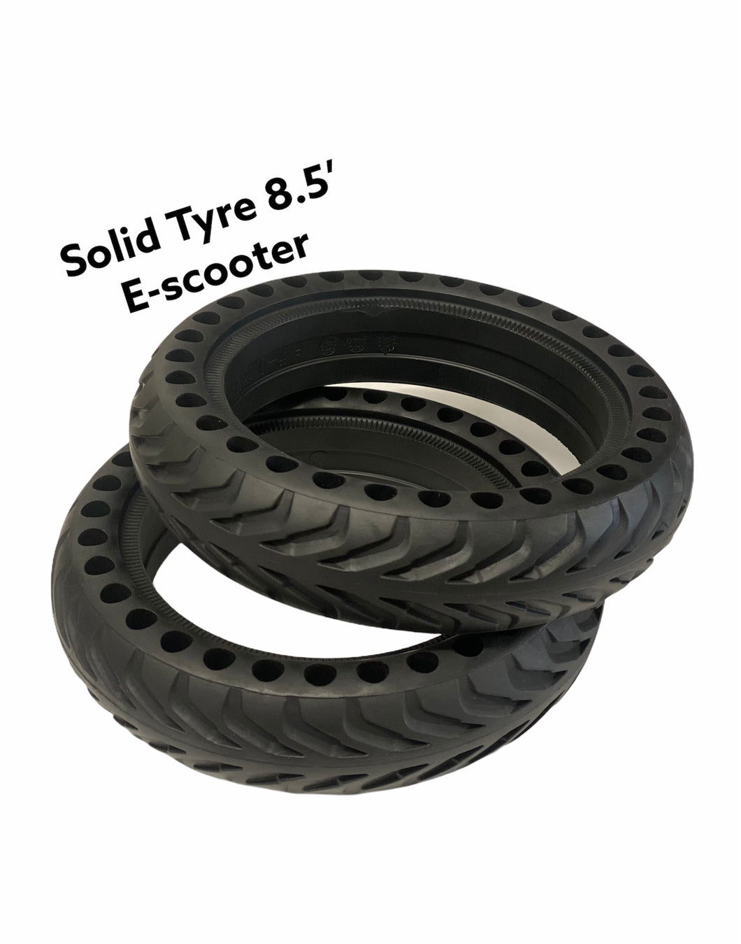 E-Scooter Solid Tyre / Honeycomb Puncture Proof Tyres 8.5' inch