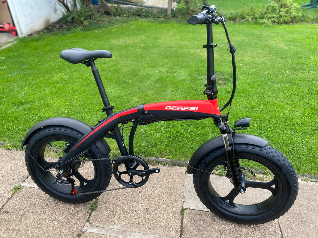 Folding Fat E-Bike 20x4.0 Tyre Dyno Pro Built In Battery