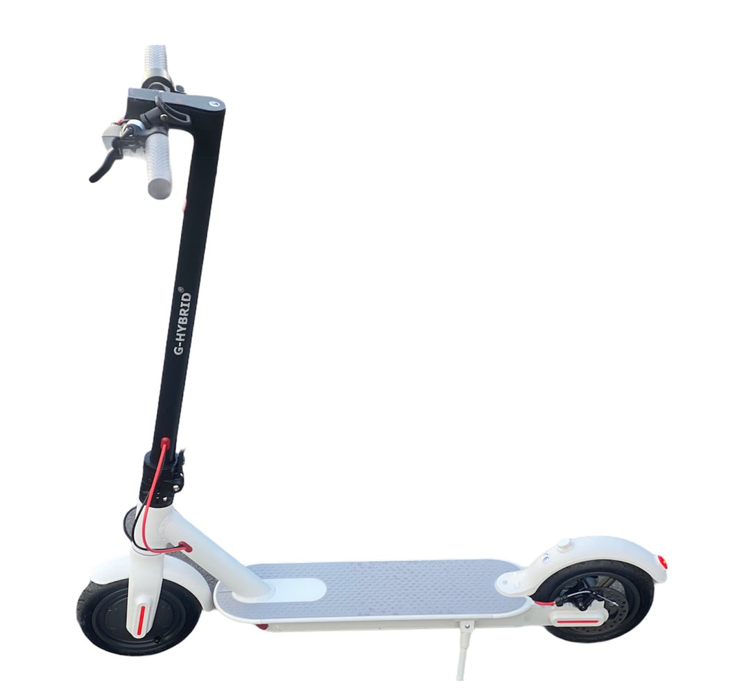 E-Scooter G-Hybrid PRO G1 Electric Scooter For Adults White