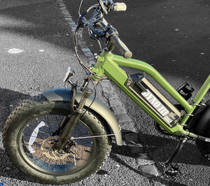 Fat Tyre Electric Bicycle G-Hybrid Dyno 3 Green