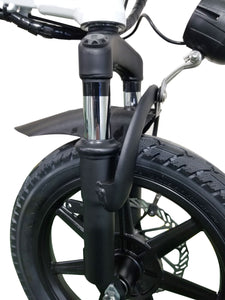 Folding E-Bike with Throttle G-Hybrid Compact Black