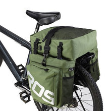 Load image into Gallery viewer, Bicycle Pannier 3 in 1 Bag High Quality Waterproof Roswheel