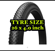 Load image into Gallery viewer, Fat Tyre 26*4.0 Fat Bike TYRE