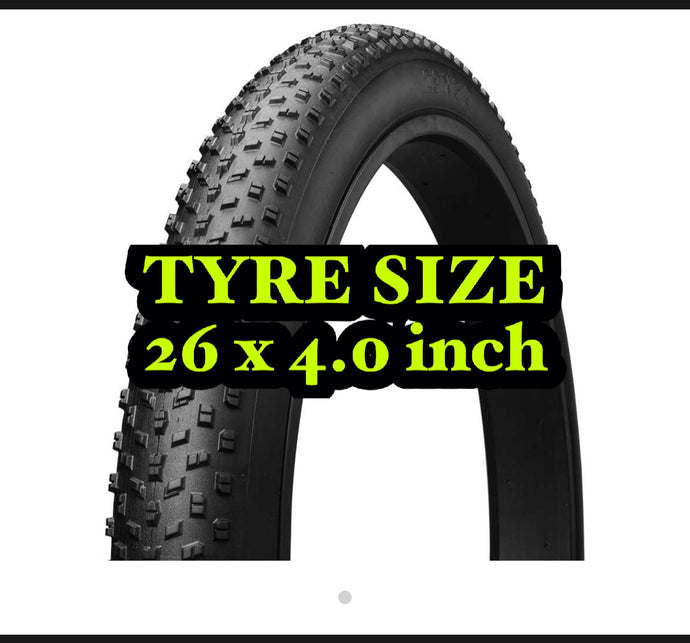 Fat Tyre 26*4.0 Fat Bike TYRE