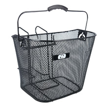 Load image into Gallery viewer, Oxford Black Mesh Basket With Hanger