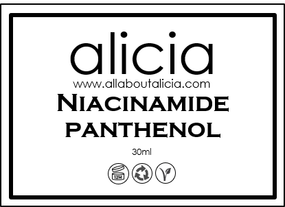 Niacinamide + Panthenol (30ml)