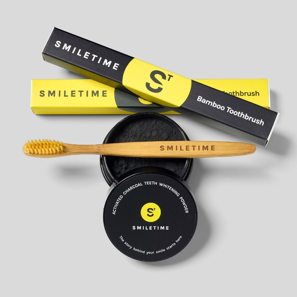 SmileTime Charcoal Teeth Whitening Powder