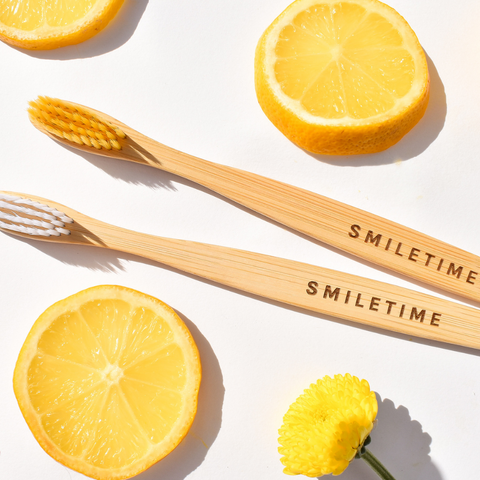 SmileTime Bamboo Toothbrushes