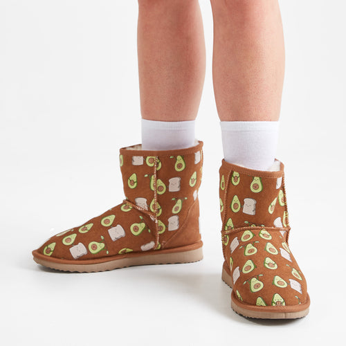 Avocado Oodie Ugg Boots
