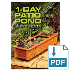 1 Day Patio Pond - Family Handyman Shop