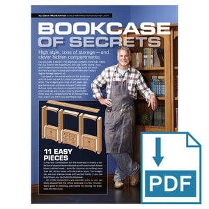 Bookcase of Secrets - Family Handyman Shop