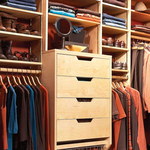 Built-In Closet Storage Drawers - Family Handyman Shop