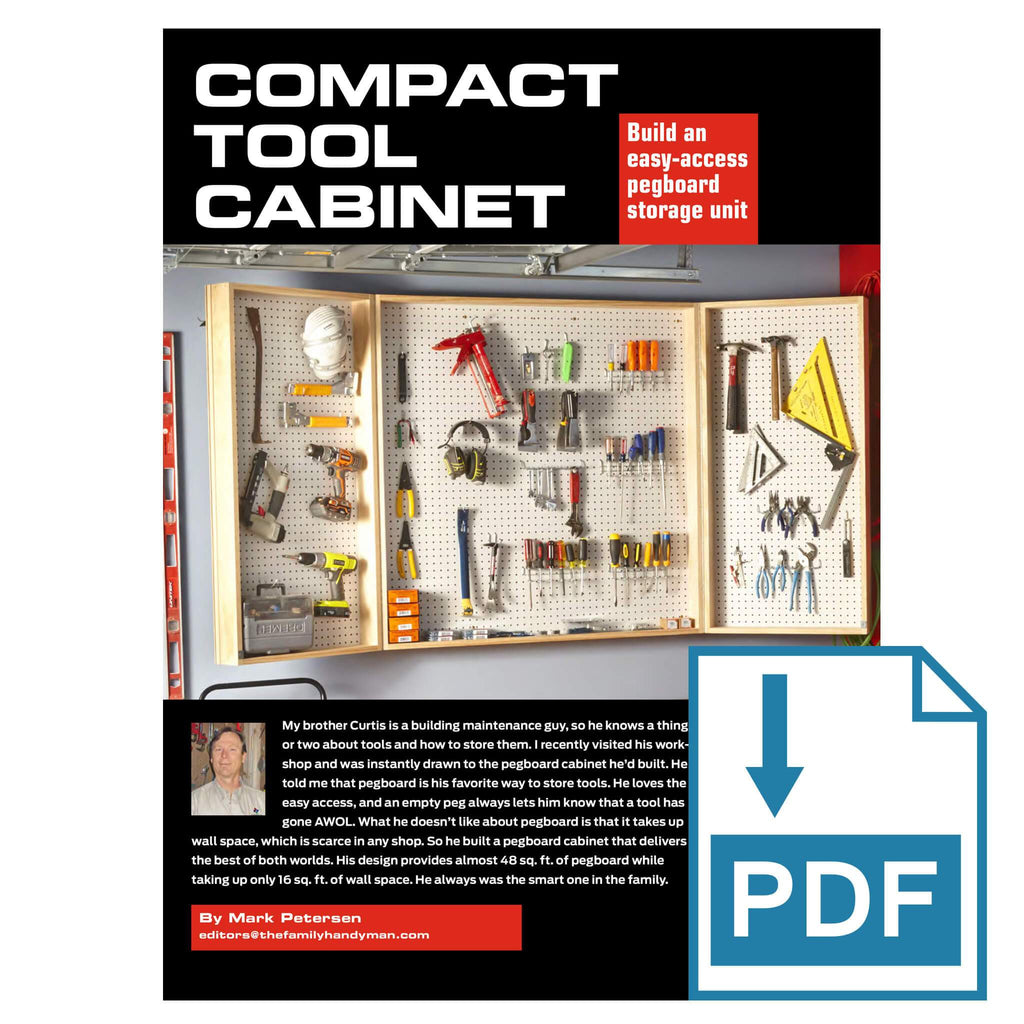 Compact Tool Cabinet
