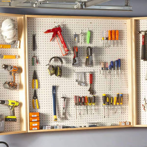 Compact Tool Cabinet - Family Handyman Shop