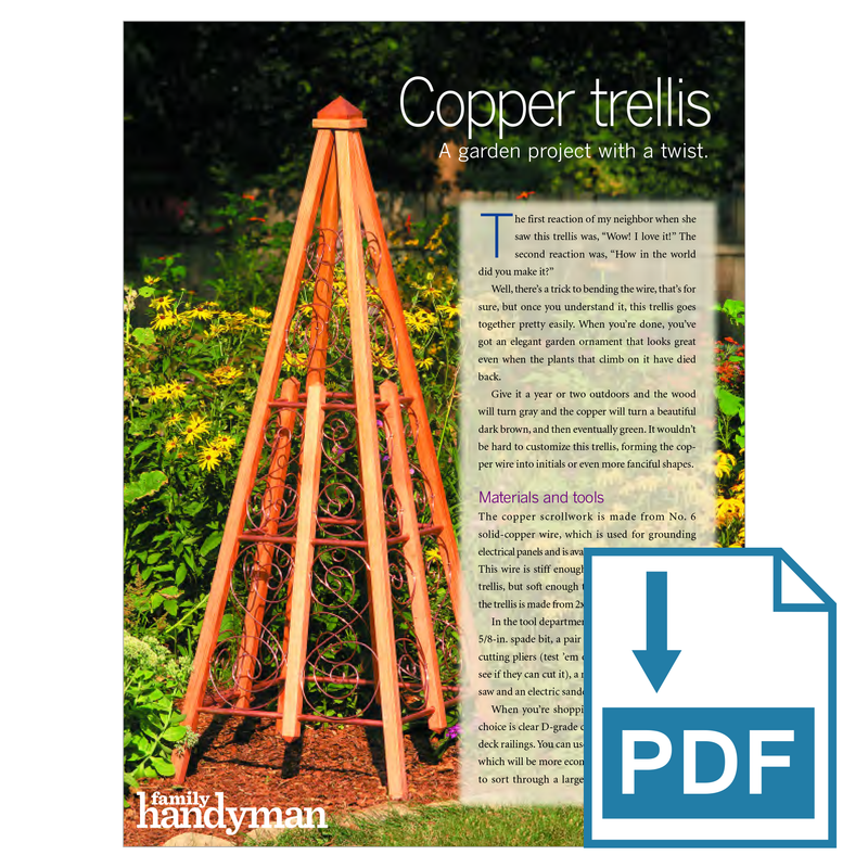 Copper Trellis