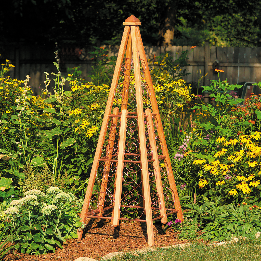 Copper Trellis - Family Handyman Shop
