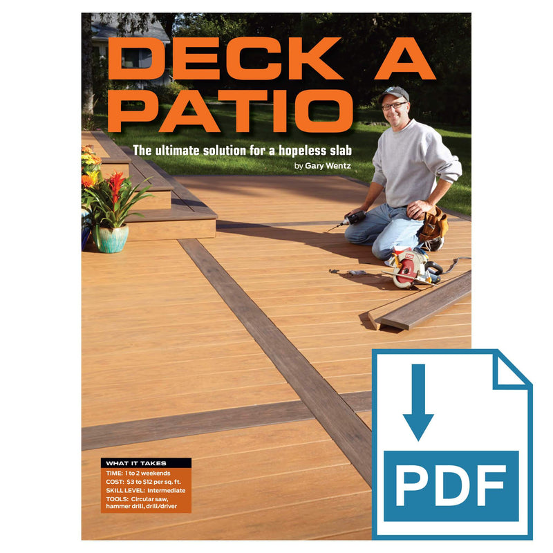 Deck a Patio