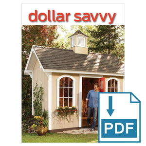 Dollar Savvy Shed - Family Handyman Shop