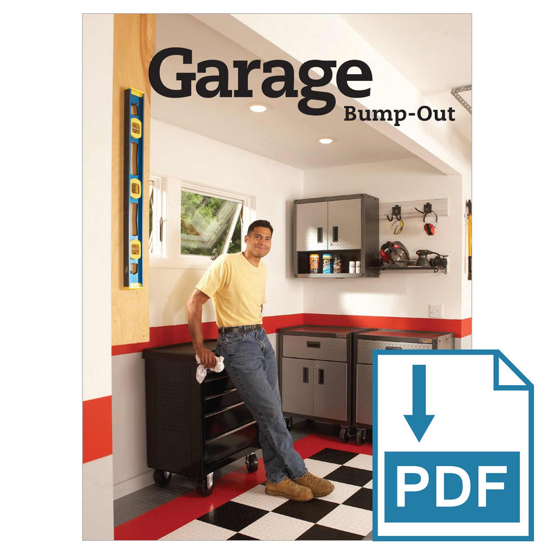 Garage Bump-Out - Family Handyman Shop