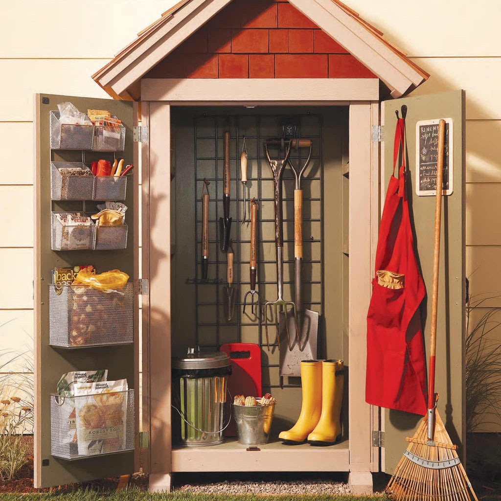 Garden Storage Closet - Family Handyman Shop