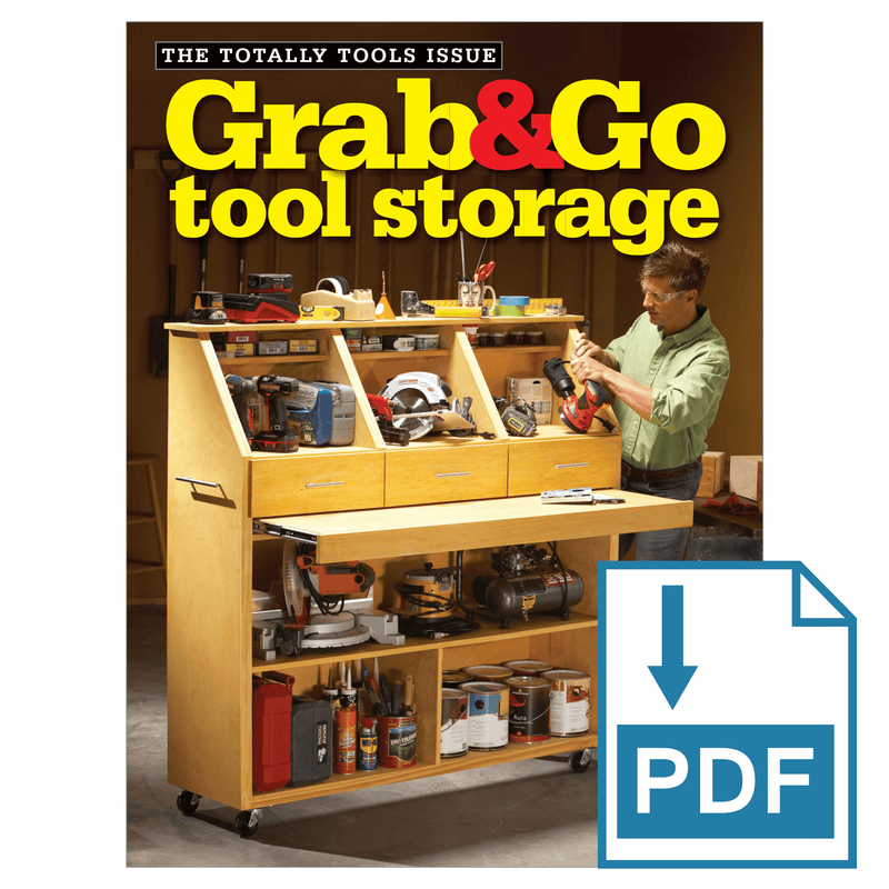 Grab & Go Tool Storage - Family Handyman Shop