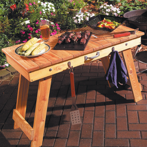Grill Table - Family Handyman Shop