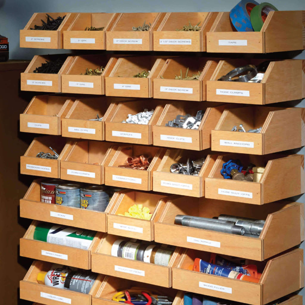 Hardware Organizer - Family Handyman Shop