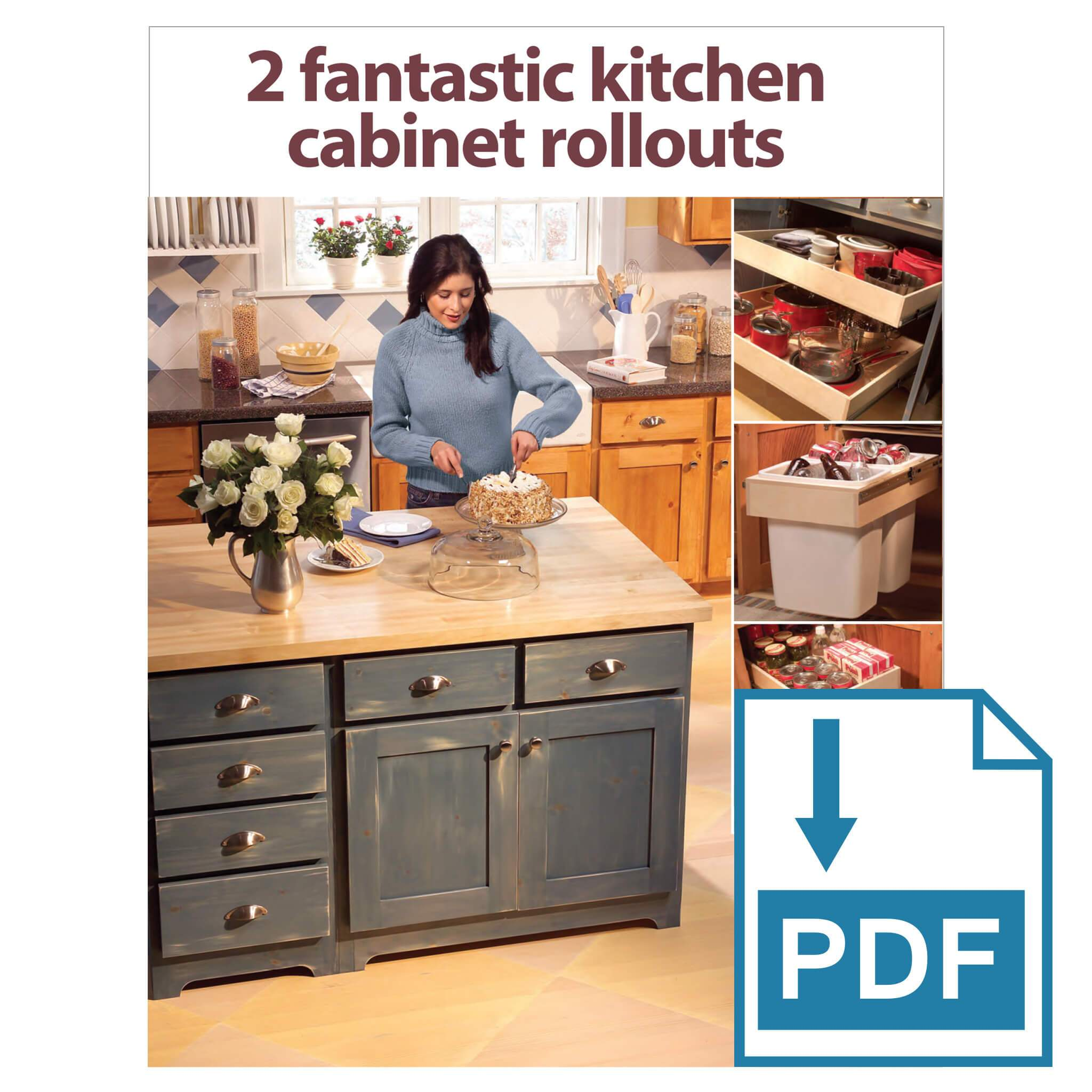 Pull Out Kitchen Shelves: Base Cabinet Rollouts - Family ...