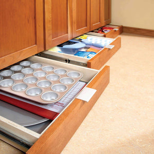 Kitchen Under-Cabinet Drawers - Lower