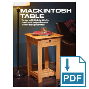 Mackintosh Side Table - Family Handyman Shop