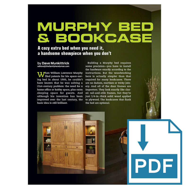 Murphy Bed & Bookcase