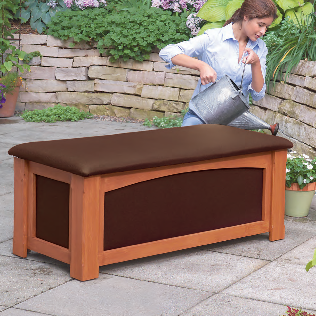 Outdoor Storage Bench - Family Handyman Shop