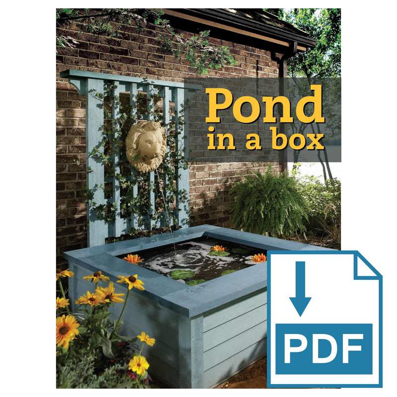 Pond in a Box - Family Handyman Shop