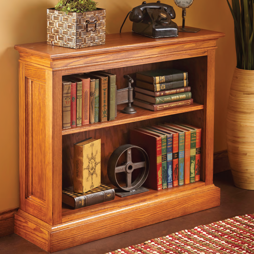 Shortcut Bookshelf - Family Handyman Shop