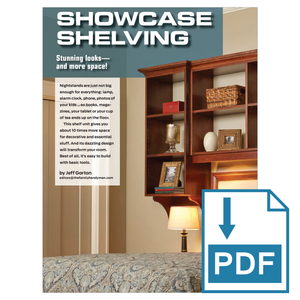Showcase Shelving - Family Handyman Shop