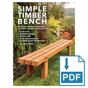Simple Timber Bench