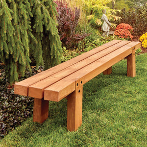 Simple Timber Bench - Family Handyman Shop