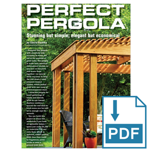 Simple Stunning Pergola - Family Handyman Shop