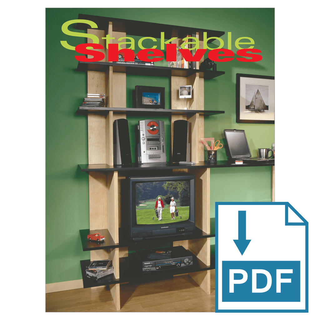 Stackable Shelves - Family Handyman Shop
