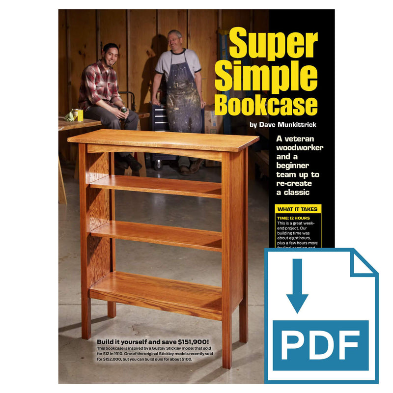 Super Simple Bookcase - Family Handyman Shop
