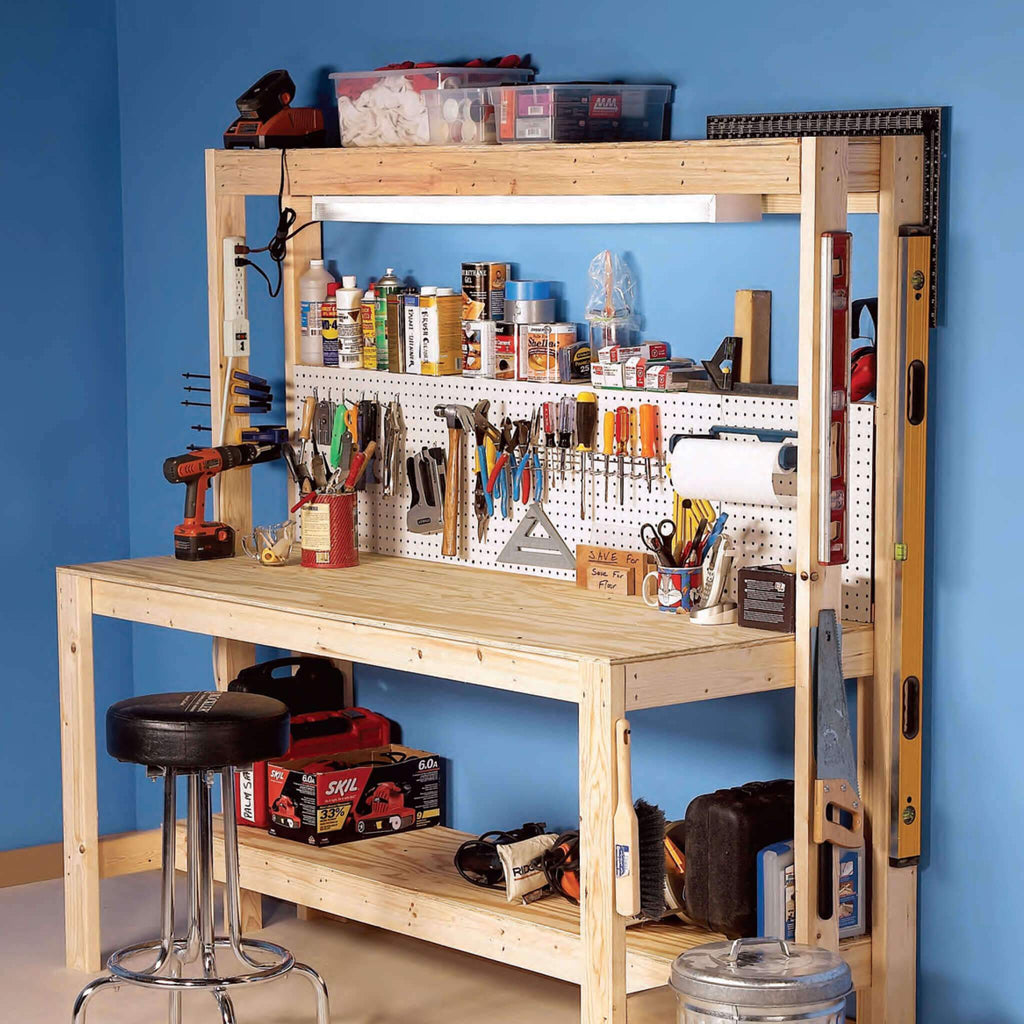 Super Simple Workbench - Family Handyman Shop