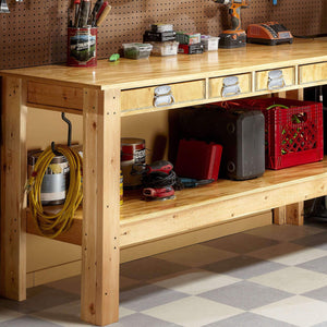 Super Workbench - Family Handyman Shop