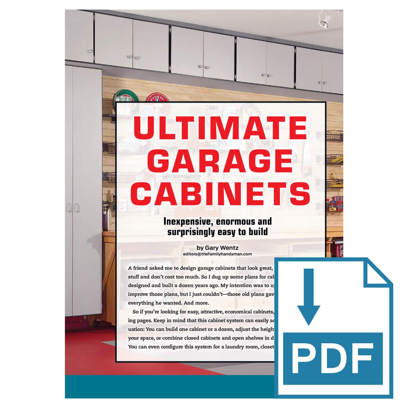 Ultimate Garage Cabinets - Family Handyman Shop