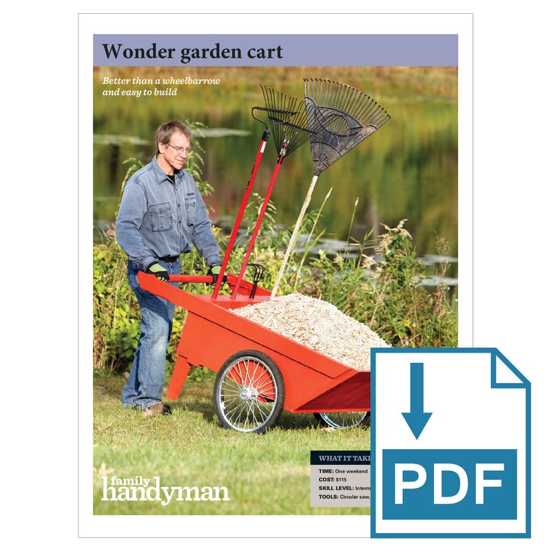 Wonder Garden Cart - Family Handyman Shop