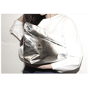 Becca Metallic Paperbag clutch SGD35 mailed