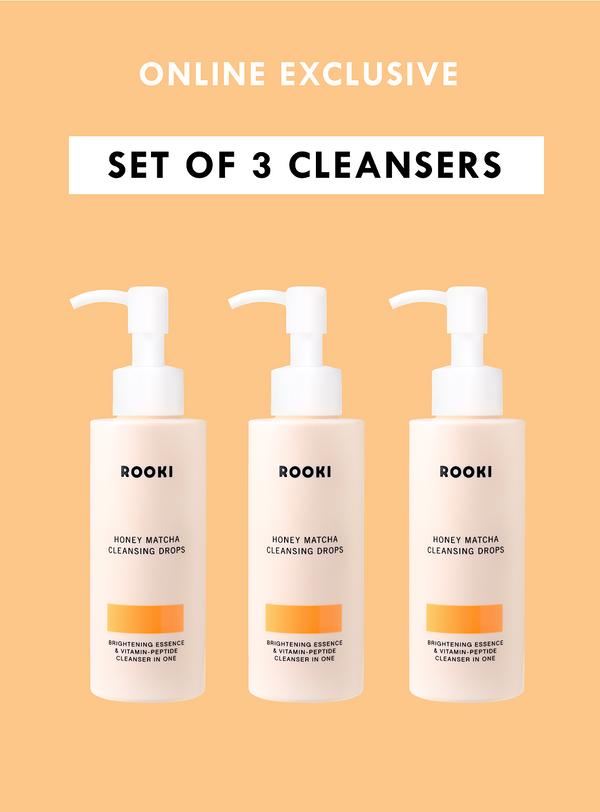 Cleanser Trio (worth 177 SGD)