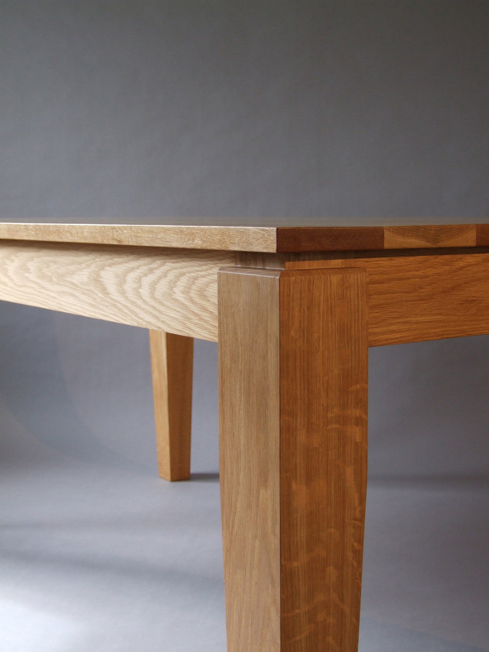 New Zealand furniture makers. Oak table
