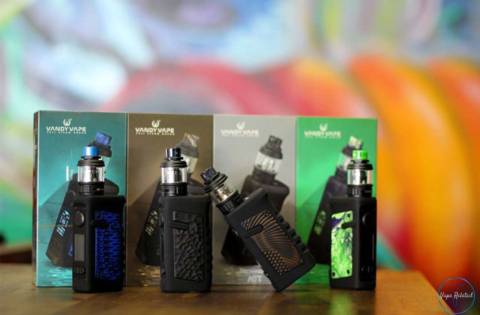 Vandy Vape Jackaroo Australia Review. Vandy Vape Jacakaroo starter kit review. External battery mod.