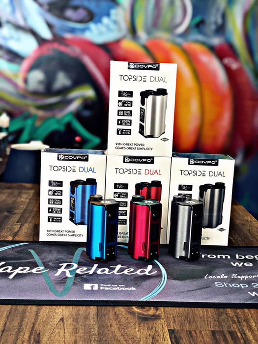 Topside dual Australia Review. Topside Dual Australia cheapest best price. Topside Dual Squonk mod Dovpo.